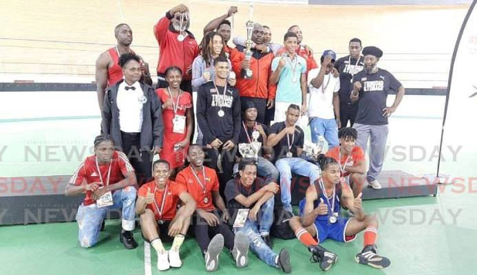 TT boxers after winning 19 medals at the 2019 Caribbean Boxing Championships. - courtesy Reynold Cox Facebook page