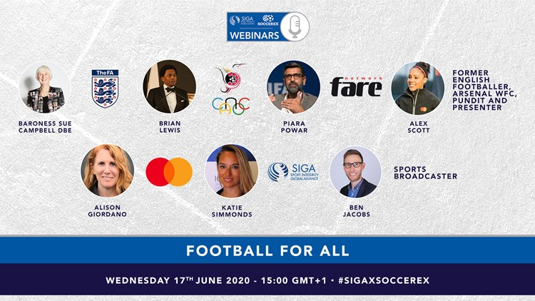 GENDER, DIVERSITY, AND INCLUSION ADDRESSED IN 4TH SIGA-SOCCEREX WEBINAR