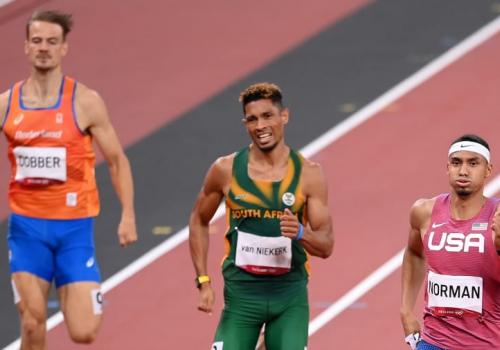 Reigning Olympic champion Wayde van Niekerk fails to reach 400m final